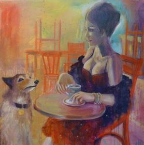 Painting by Urwana DeBoulans