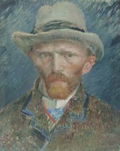 Vincent VanGogh self-portrait