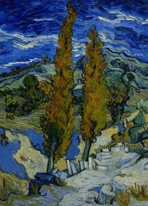 Van Gogh Cedar trees