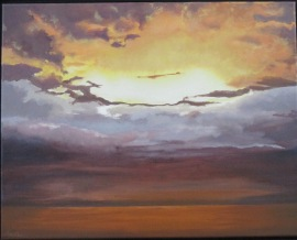 Painting of Sunrise