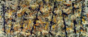 Example of painting by Jackson Pollock