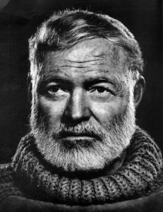 Photograph of Earnest Hemingway