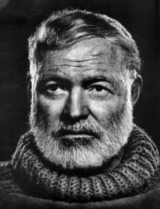 Photograph of Earnest Hemingway