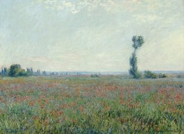 Painting of field by Claude Monet