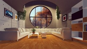 Interior livingroom with style